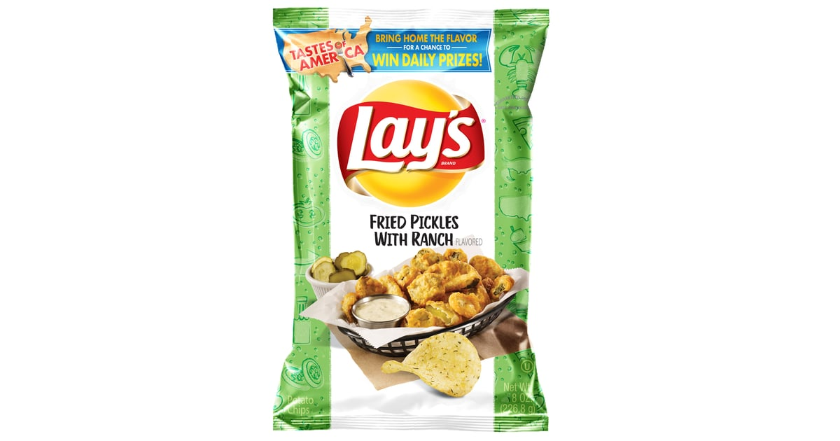 lays fried pickle and ranch chips