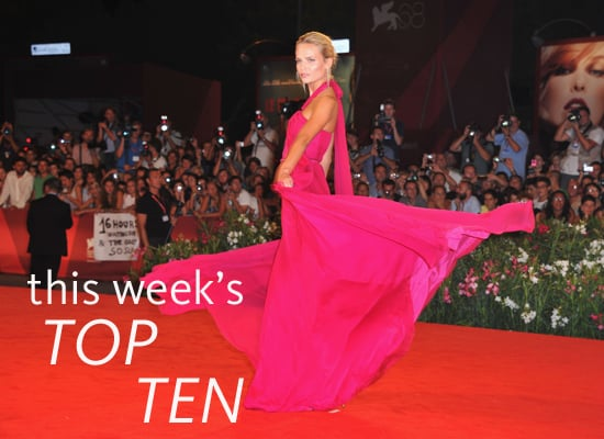 Pictures of This Week's Top Ten Best Dressed Celebrities, Including Alexa Chung, Diane Kruger, Natasha Poly & More!