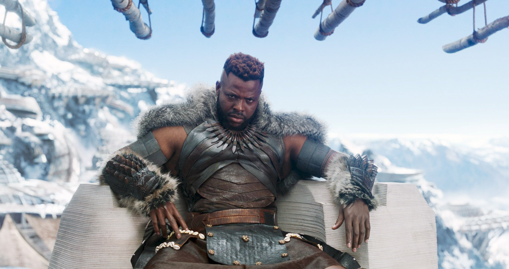 Black Panther 2018 He Looks Very Different In Us But Yes That S M Baku From Black Panther Popsugar Entertainment Photo 3