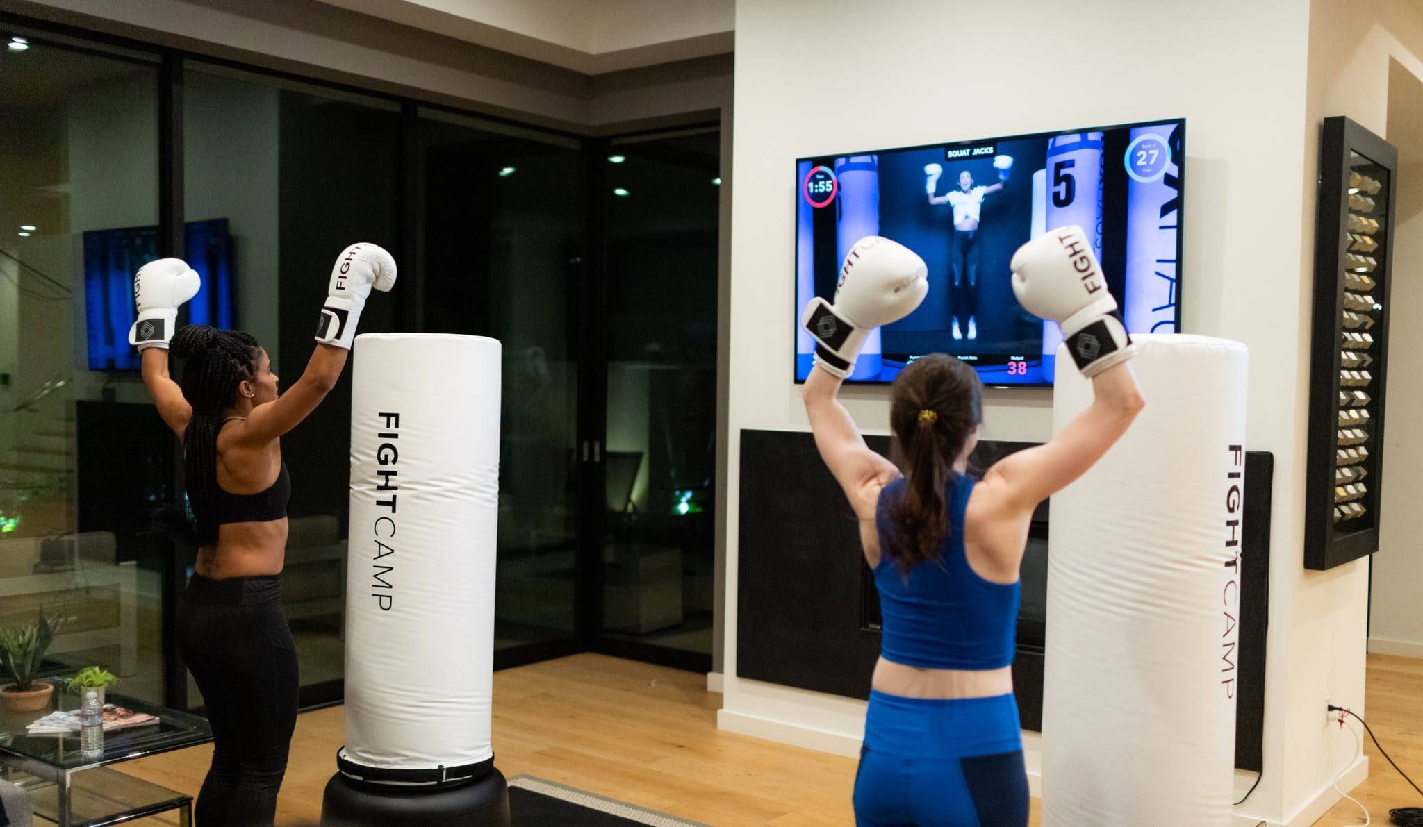 What is fightcamp at home boxing workout popsugar fitness