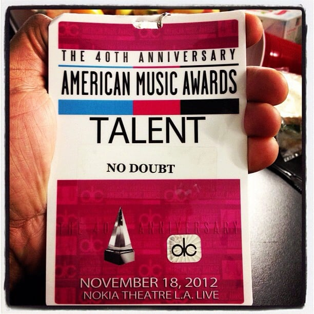 No Doubt showed off their backstage passes. Source: Instagram user nodoubt