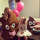 Someone Get This Mom an Award For Making Her Girl's Poop Party Dreams Come True