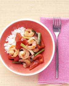 Easy Shrimp and Ginger Stir Fry Recipe