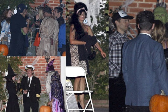 Photos of Kate Hudson's Celebrity Halloween Party, Including Courteney Cox, Cindy Crawford, Isla Fisher, Tobey Maguire, and More
