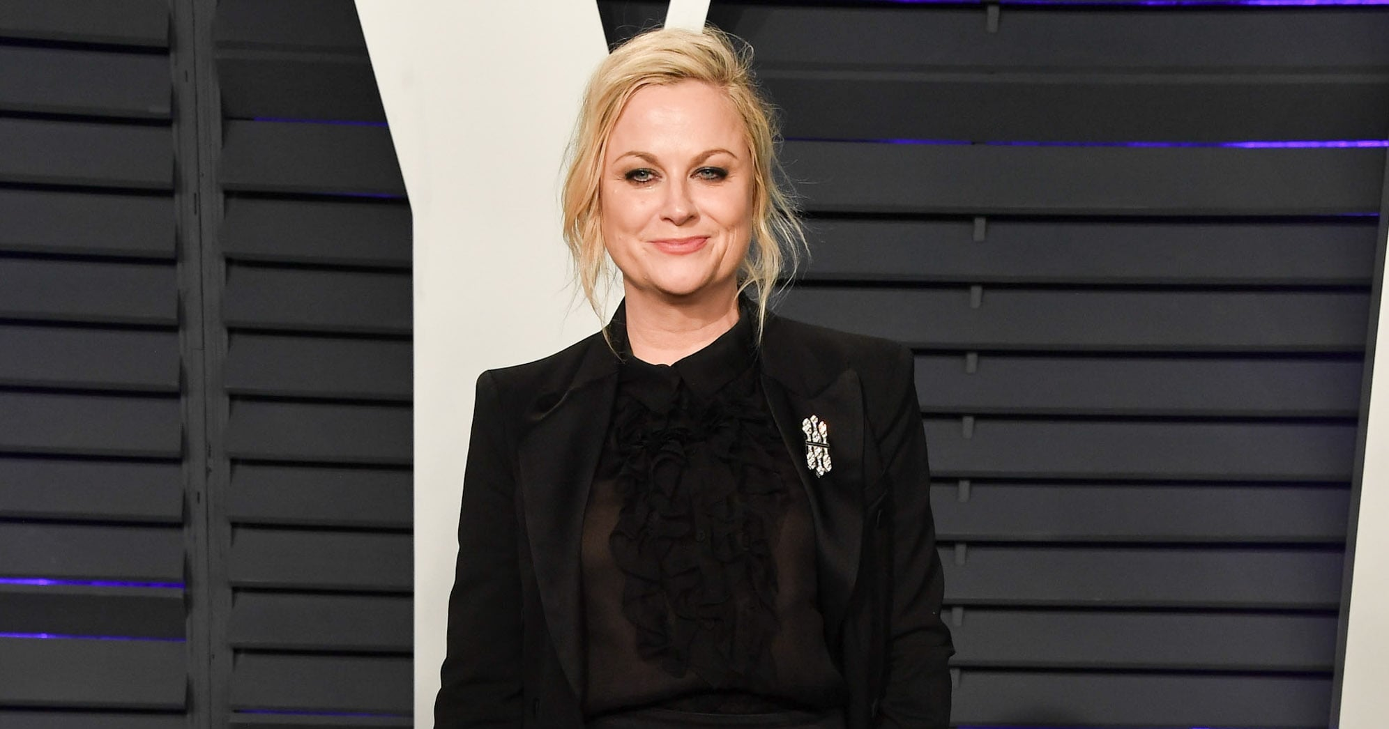 Amy Poehler Makes a Pointed Statement About Women Having to Answer For Men's Actions