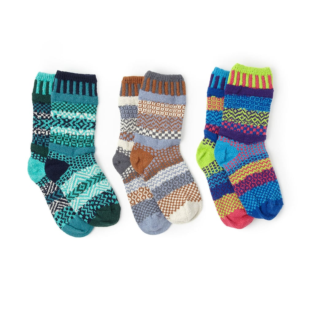 Mismatched Crew Socks