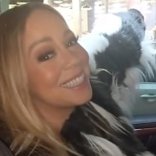 Mariah Carey Celebrating First NYC Snow of 2018 Photo