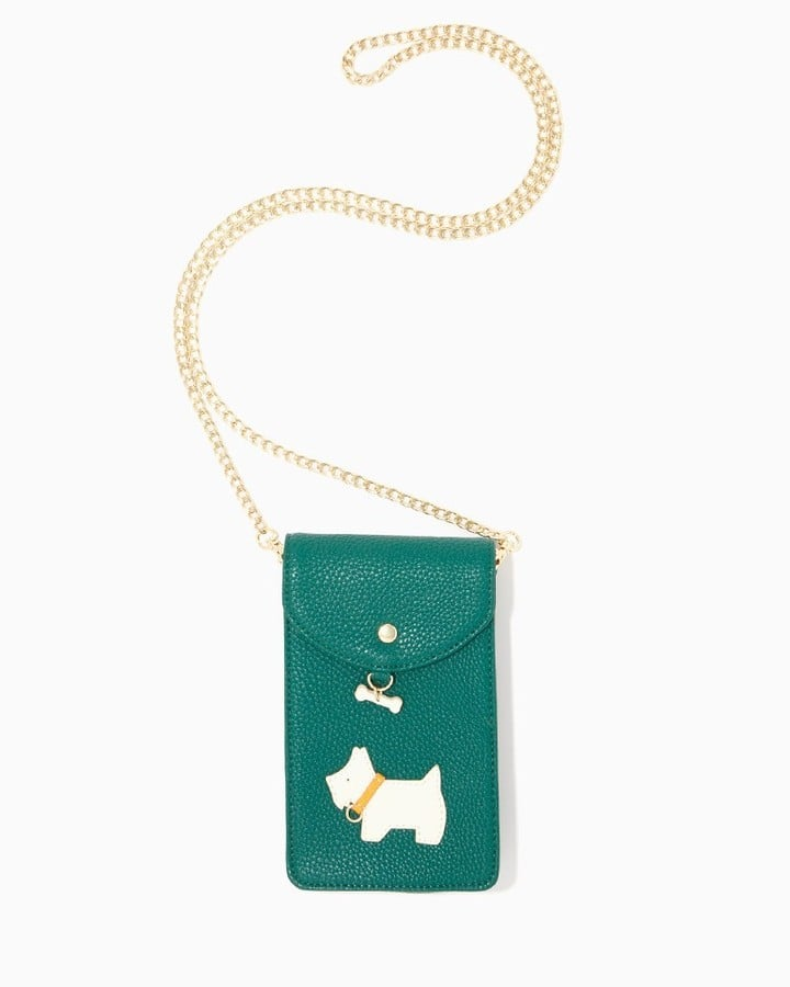 Charming charlie Scottie Dog Tech Crossbody
