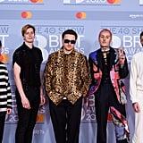 Bring Me the Horizon at the 2020 BRIT Awards in London