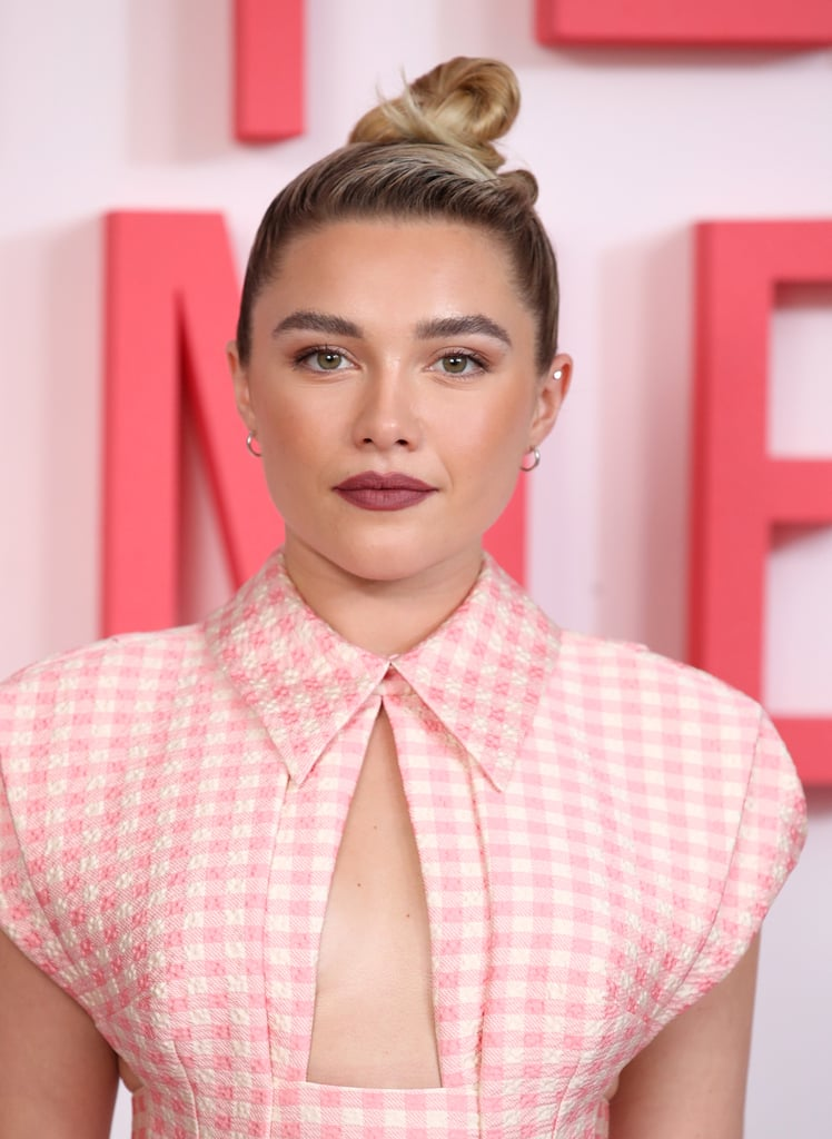 Florence Pugh's Copper-Hued Eye Shadow, 2019
