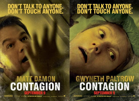 See the Six Contagion Posters With Matt Damon, Gwyneth Paltrow, and More