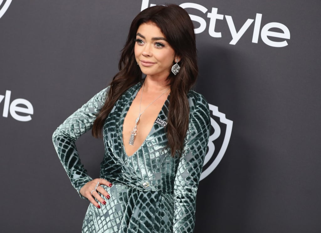 Sarah Hyland Just Embraced 2019's Biggest Haircut Trend: the Shaggy Lob