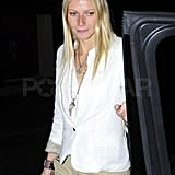 Gwyneth Moves On From Her Shelved Record Deal With Her Uncle Steven