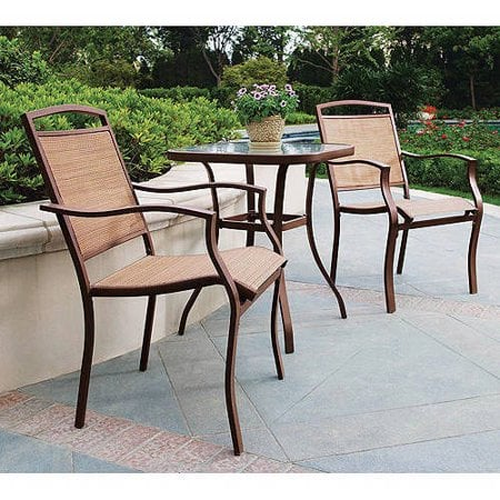 Mainstays Sand Dune 3-Piece Outdoor Bistro Set | Best ... on Dune Outdoor Living id=74497