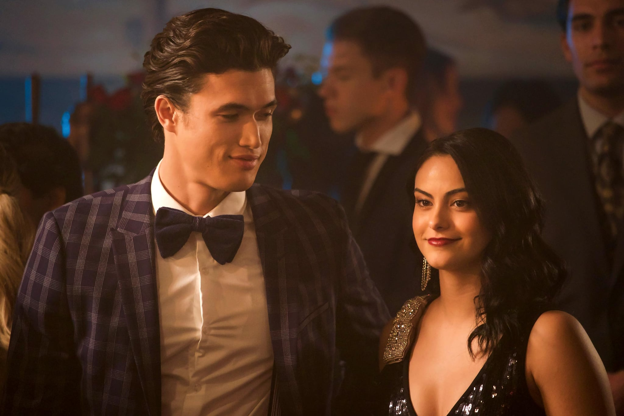 RIVERDALE, from left: Charles Melton, Camila Mendes, 'Chapter Forty-Four: No Exit', (Season 3, ep. 309, aired Jan. 16, 2019). photo: Shane Harvey / The CW / courtesy Everett Collection