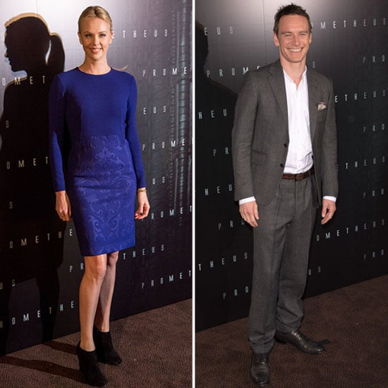 Michael Fassbender and Charlize Theron Bring the Hotness to Their Paris Premiere