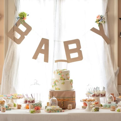 Garden-Themed Baby Shower