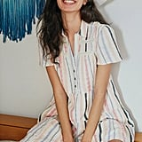 Georgina Tiered Shirtdress