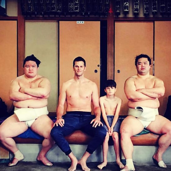 Tom Brady Sumo Wrestling in Tokyo Video June 2017