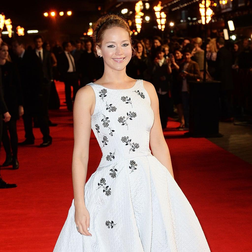 Jennifer Lawrence's Dresses at the Mockingjay Premieres