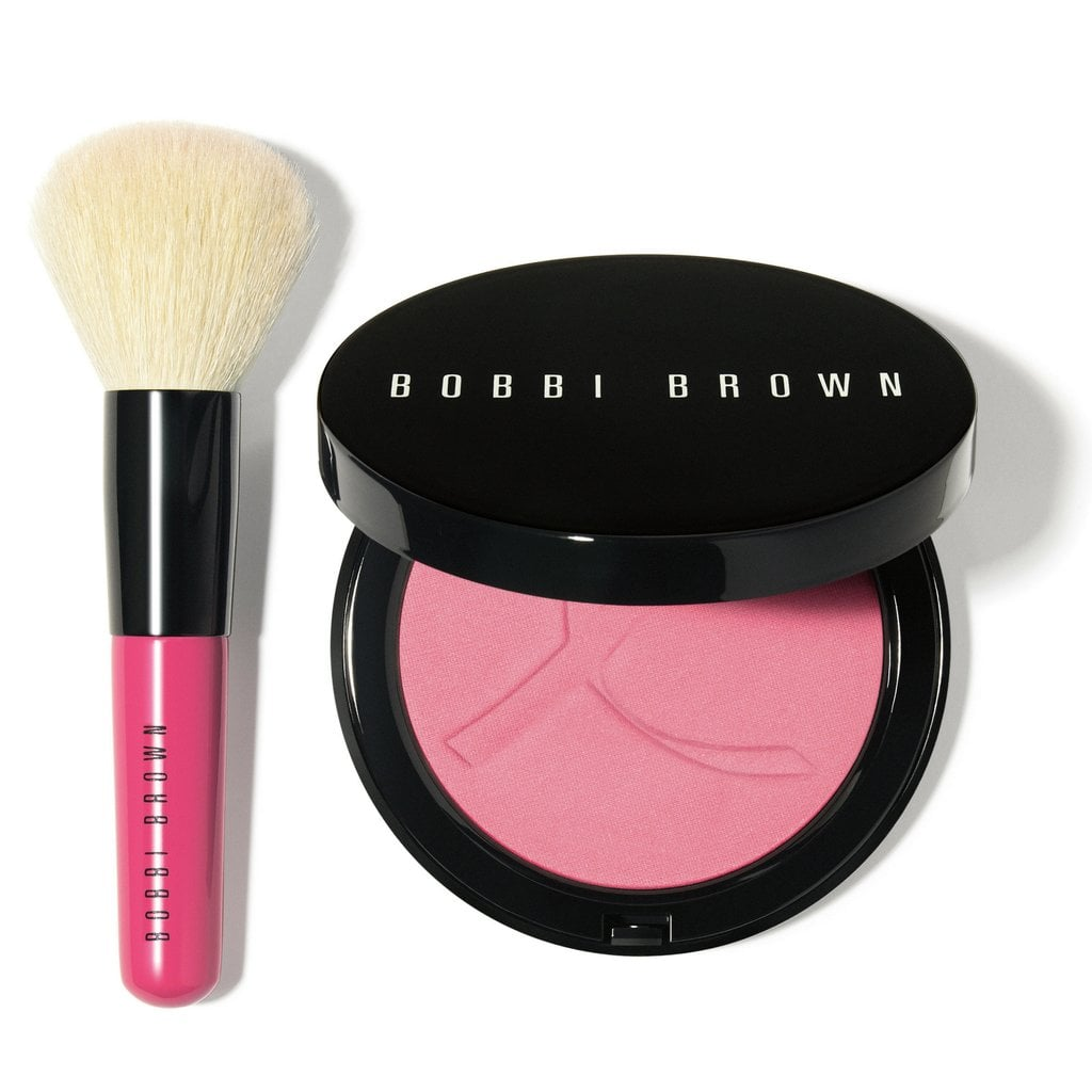 Bobbi Brown Pink Peony Illuminating Bronzing Powder Set Beauty Cheek Palette Limited Edition