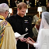 Harry and Meghan Exchanging Rings, 2018