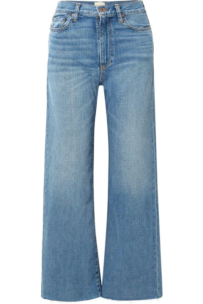 Simon Miller Kasson Mid-Rise Wide-Leg Jeans
