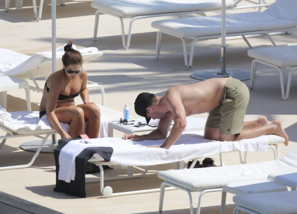 After announcing their pregnancy earlier in the week, the couple took time on Thursday to relax in Monaco.