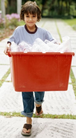 Recycling with Kids