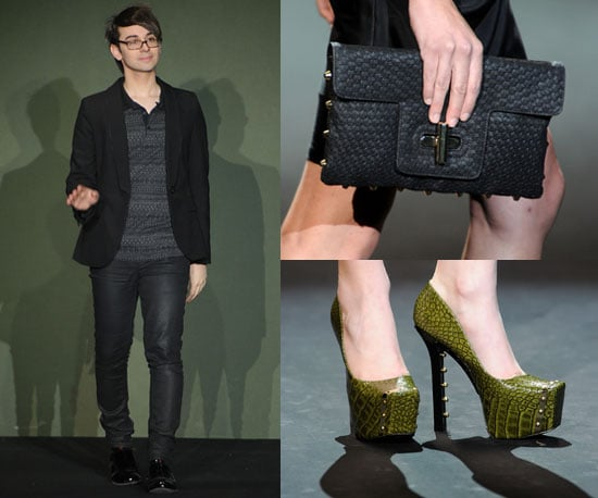 Christian Siriano at 2011 Fall New York Fashion Week