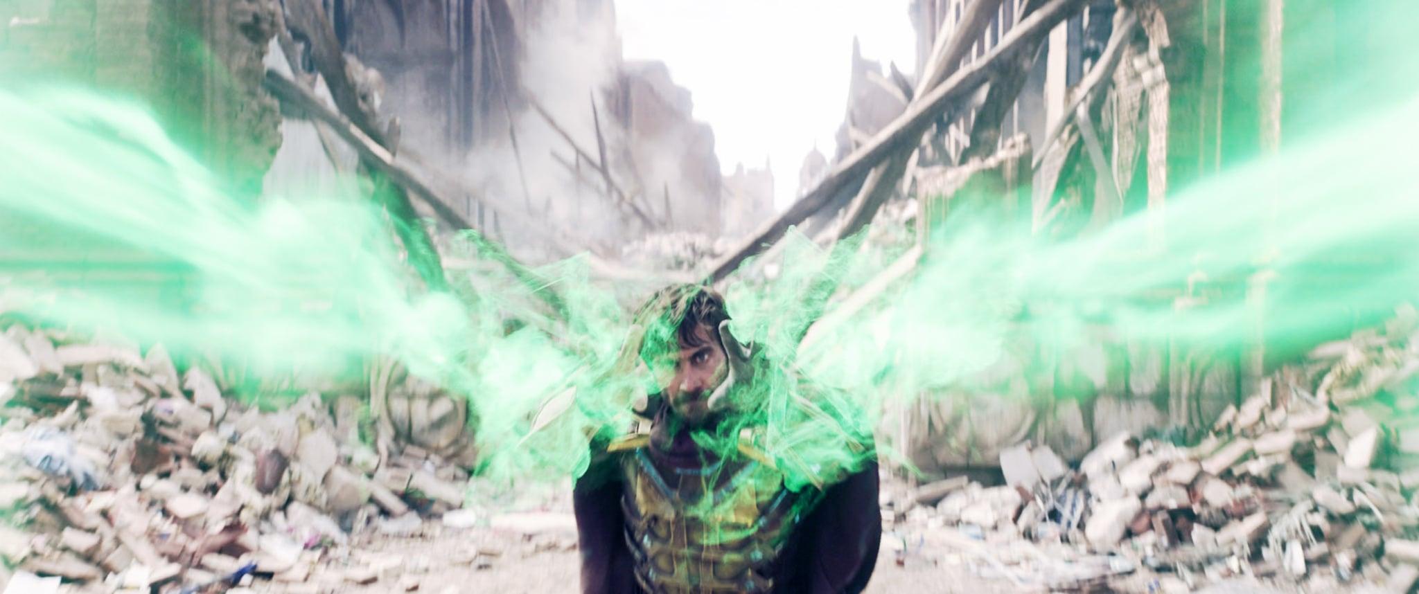 SPIDER-MAN: FAR FROM HOME, Jake Gyllenhaal, 2019.  Columbia /  Marvel Studios/ Courtesy Everett Collection