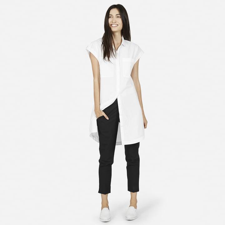 Everlane The Short-Sleeve Shirt Dress ($75)