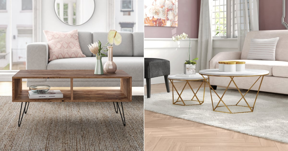 Wayfair Has Some Seriously Stylish Coffee Tables — These Are the 17 We'd Buy