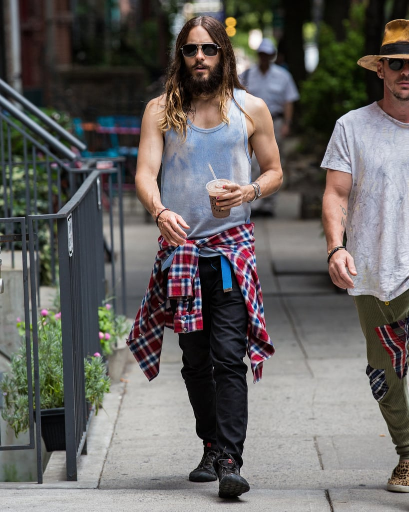 We're Pretty Sure Jared's Been Tying a Flannel Around His Waist Since the Day He Was Born