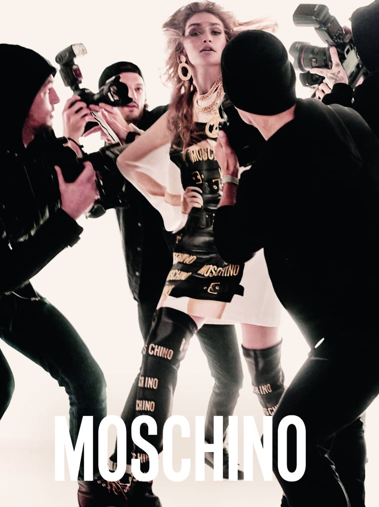 Bella and Gigi Hadid Team Up For Moschino SS17 Campaign