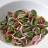 Warmed Fiddlehead Salad