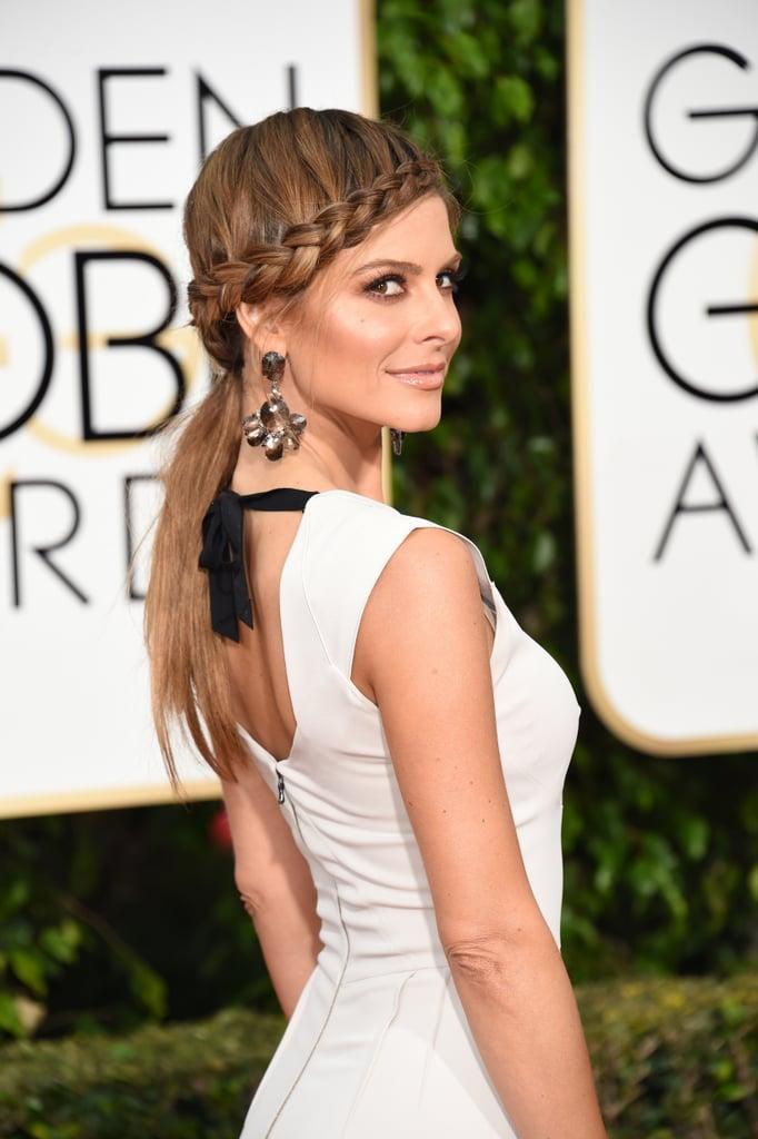 Maria Menounos at the 2016 Golden Globes