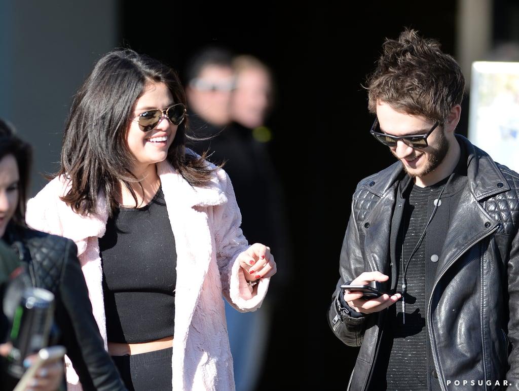 Selena Gomez and Zedd in Atlanta 2015   Pictures