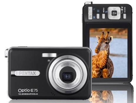 Daily Tech: Pentax's $160 10.2 Megapixel Waterproof Camera