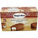 Best Costco Frozen Food: Häagen-Dazs Vanilla Milk Chocolate Almond ($12)