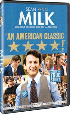 New on DVD, Milk