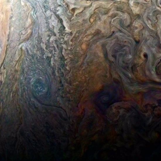 NASA Juno Spacecraft Photo of Jupiter's Cloud Tops