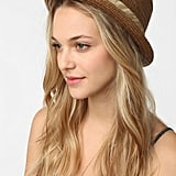 For a classic touch, add a woven porkpie hat into the mix. BDG Porkpie Straw Hat ($29)