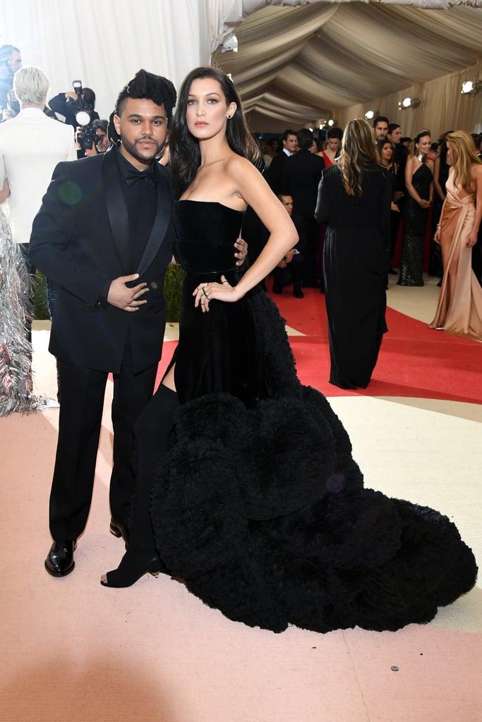 The Weeknd and Bella Hadid — 2016