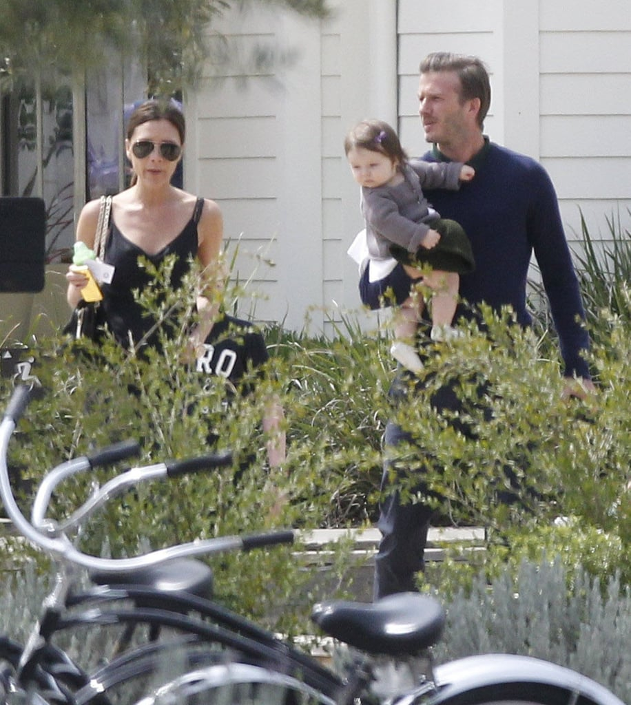David Beckham and Victoria Beckham spent Easter as a family with their kids.
