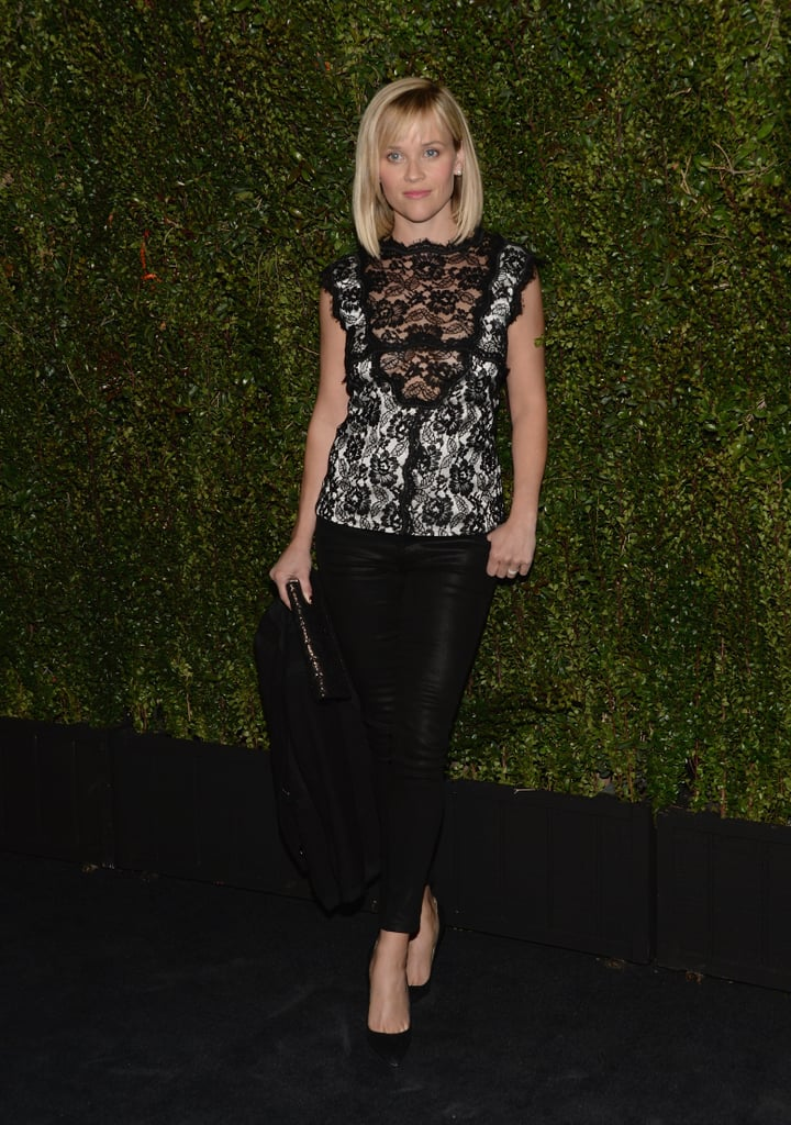 Reese Witherspoon wore a Chanel ensemble.