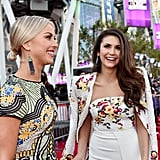 Julianne Hough and Nina Dobrev at American Music Awards 2015