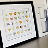 Kid Crafts: Heart Punch Collage