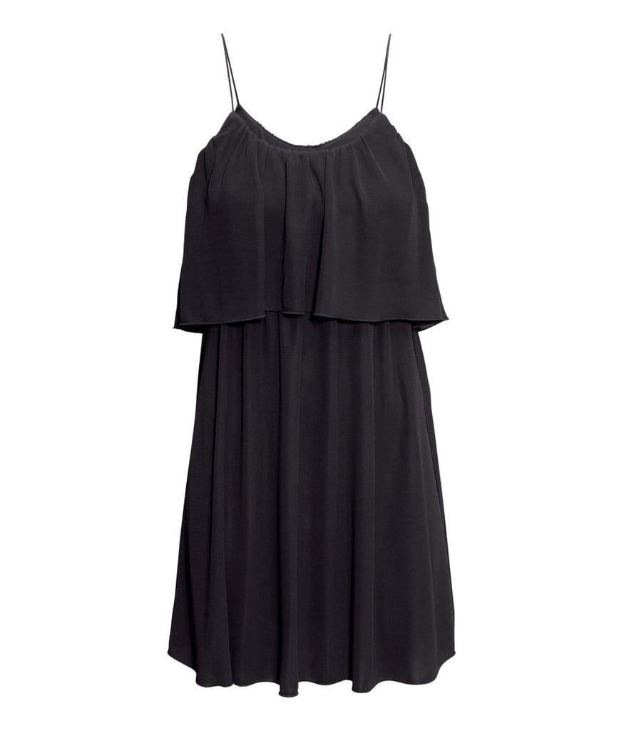 Because every girl needs a flirty foolproof LBD — you'll be happy you have this H&M ruffle dress ($50).