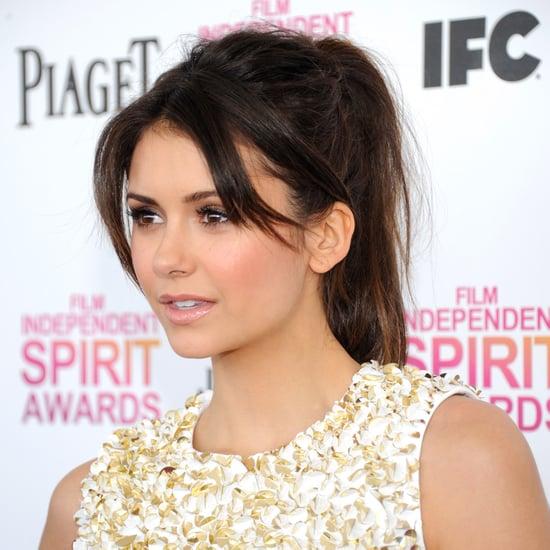 2013 Independent Spirit Awards Beauty: Nina Dobrev Ponytail